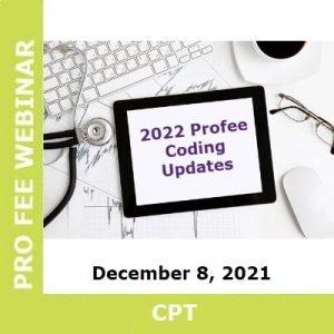 2022 CPT Updates Profee